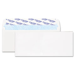 Grip-Seal Business Envelope, 4 1/8 x 9 1/2, 24 lb, White, 250/Box