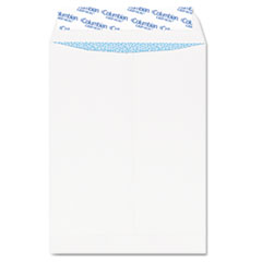 Grip Seal Security Tinted Catalog Envelopes, 10 x 13, 28lb, White Wove, 100/Box