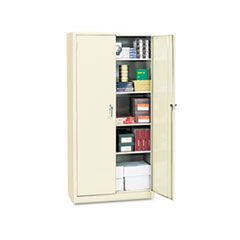 ASSEMBLED WELDED STORAGE CABINET, 36W X 18D X 72H,