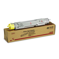 106R00674 High-Yield Toner, 8000 Page-Yield, Yellow
