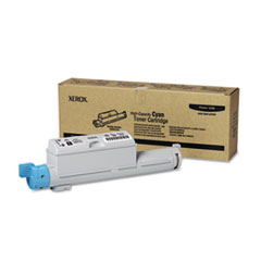 106R01218 High-Yield Toner, 12000 Page-Yield, Cyan