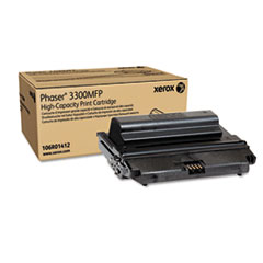 106R01412 High-Yield Toner, 8000 Page-Yield, Black