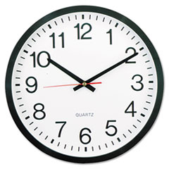 COU ** Round Wall Clock, 11-1/2 in, Black at Sears.com