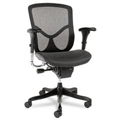 MotivationUSA * EQ Series Ergonomic Multifunction Mid-Back Mesh Chair, Black Base at Sears.com