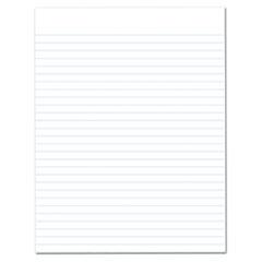 Glue Top Pads, Legal/Wide, 8 1/2 x 11, White, 50 Sheets, Dozen