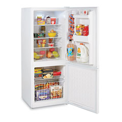 Bottom Mounted Frost-Free Freezer Refrigerator, 9.2 cubic feet, White