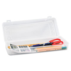 Stretch Art Box, Polypropylene, Snap Shut, Clear