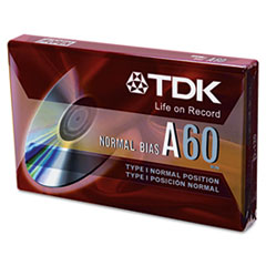 Standard Grade Audio & Dictation Cassette, Normal Bias, 60 Minutes (30 x 2)
