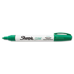 Permanent Paint Marker, Medium Point, Green