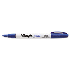 Permanent Paint Marker, Fine Point, Blue