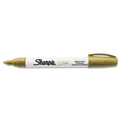 Permanent Paint Marker, Medium Point, Gold