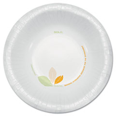 DART BARE PAPER ECO-FORWARD DINNERWARE, 12OZ BOWL,