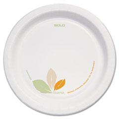 "DART BARE PAPER ECO-FORWARD DINNERWARE, 8 1/2"" PLATE,"