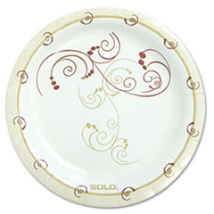 "MotivationUSA * Symphony Paper Dinnerware, Mediumweight Plate, 6"", Tan, 125/Pack at Sears.com"