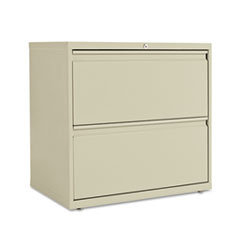 TWO-DRAWER LATERAL FILE CABINET, 30W X 19-1/4D X 29H,