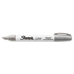 Permanent Paint Marker, Medium Point, Silver