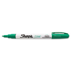 Permanent Paint Marker, Fine Point, Green