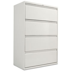 FOUR-DRAWER LATERAL FILE CABINET, 36W X 19-1/4D X 54H,