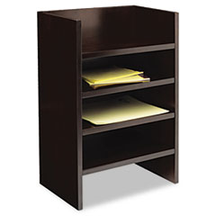 COU ** Mira Series Wood Veneer Hutch Letter Tray, 17w x 10d x 22H, Espresso at Sears.com