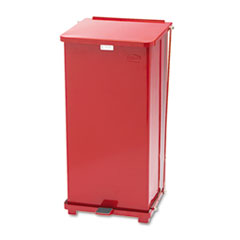 COU ** Defenders Biohazard Step Can, Square, Steel, 24 gal, Red at Sears.com