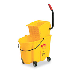 MotivationUSA * Wavebrake 26-Quart Side Press Mop Bucket & Wringer Combo, Yellow at Sears.com