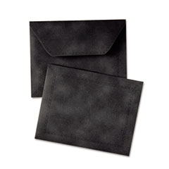 Document Carrier, Letter, Two Inch Expansion, Black, 1/ea QUA89200