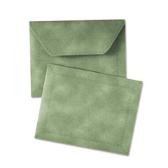 Document Carrier, Letter, Two Inch Expansion, Green, 1/ea QUA89203