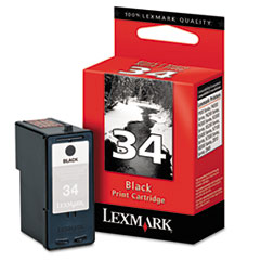 18C0034 (34) High-Yield Ink, 475 Page-Yield, Black