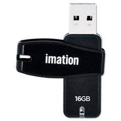 Swivel USB 2.0 Flash Drive, 16 GB