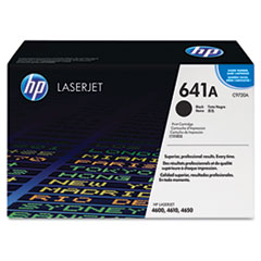 HP 641A, (C9720A) Black Original LaserJet Toner Cartridge