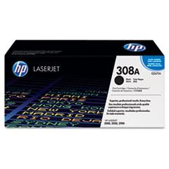 HP 308A, (Q2670A) Black Original LaserJet Toner Cartridge