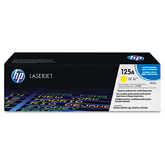 HP 125A, (CB542A) Yellow Original LaserJet Toner Cartridge