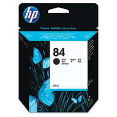 HP 84, (C5016A) Black Original Ink Cartridge