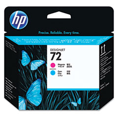 HP 72, (C9383A) Magenta/Cyan Printhead