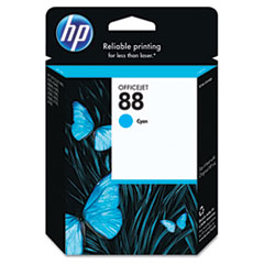 HP 88, (C9386AN) Cyan Original Ink Cartridge