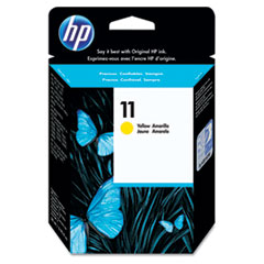 HP 11, (C4838A) Yellow Original Ink Cartridge