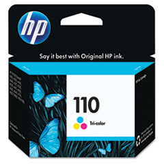 HP 110, (CB304AN) Tri-color Original Ink Cartridge