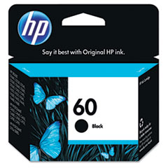 CC640WN (HP 60) Ink, 200 Page-Yield, Black