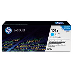 HP 121A, (C9701A) Cyan Original LaserJet Toner Cartridge