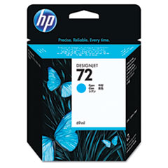 HP 72, (C9398A) Cyan Original Ink Cartridge