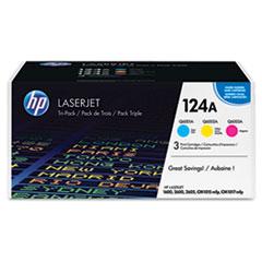 Tri-Pack HP Color LaserJet Cartridges