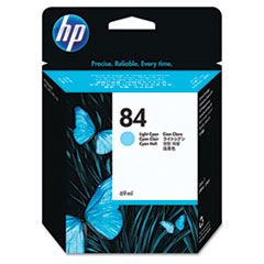 HP 84, (C5017A) Light Cyan Original Ink Cartridge