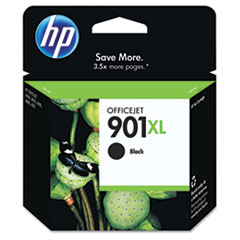 HP 901XL, (CC654AN) High Yield Black Original Ink Cartridge