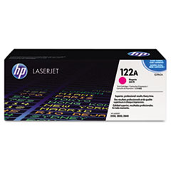 HP 122A, (Q3963A) Magenta Original LaserJet Toner Cartridge