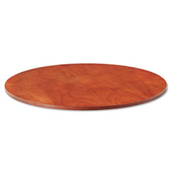 "Verona Veneer Series Round Meeting Table Top, 47-1/4"" Diameter, Cherry"