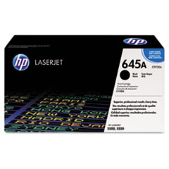 HP 645A, (C9730A) Black Original LaserJet Toner Cartridge