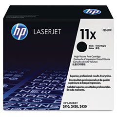 HP 11X, (Q6511X) High Yield Black Original LaserJet Toner Cartridge