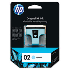 HP 02, (C8774WN) Light Cyan Original Ink Cartridge