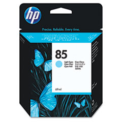 HP 85, (C9428A) Light Cyan Original Ink Cartridge