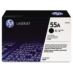 HP 55A, (CE255A) Black Original LaserJet Toner Cartridge